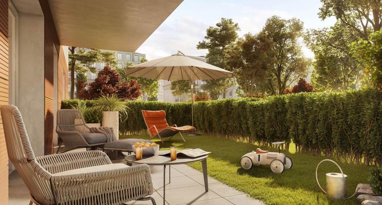 Oberhausbergen programme immobilier neuf « Osmose 3 » en Loi Pinel
