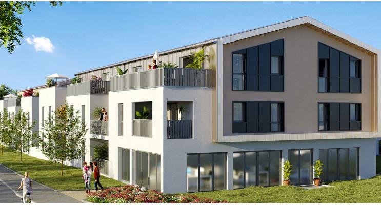 Sautron programme immobilier neuf « Les Hauts de Brimberne » en Loi Pinel