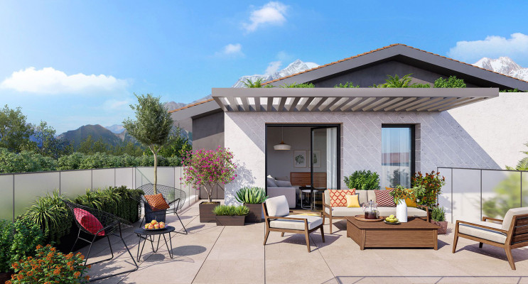 Cessy programme immobilier neuf « Serenity » en Loi Pinel