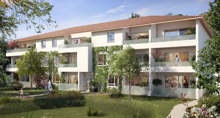 Villeneuve-Tolosane programme immobilier neuf « Broceliande » en Loi Pinel