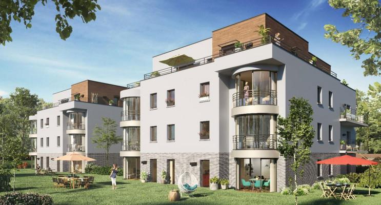 Amiens programme immobilier neuf « Arborea » en Loi Pinel