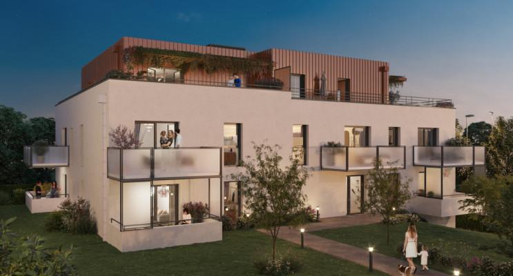Montigny-lès-Metz programme immobilier neuf « Quint & Sens » en Loi Pinel