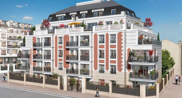 Gagny programme immobilier neuf « Instants de ville
