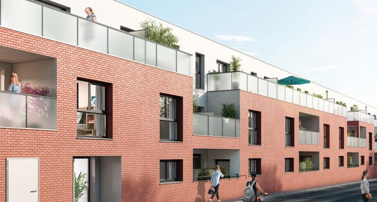 Le Petit-Quevilly programme immobilier neuf « Nouvel Angle » en Loi Pinel