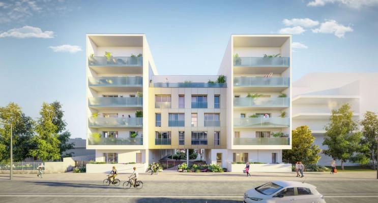 Nantes programme immobilier neuf « Respiration » en Loi Pinel