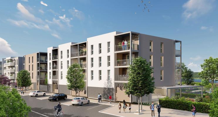 Arles programme immobilier neuf « Les Jardins du Canal