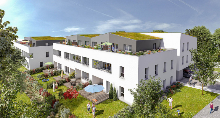 Saint-Herblain programme immobilier neuf « Les Jardins d'Aby » en Loi Pinel