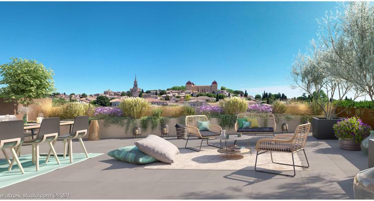 Castries programme immobilier neuf « Domaine Les Lavandières » en Loi Pinel