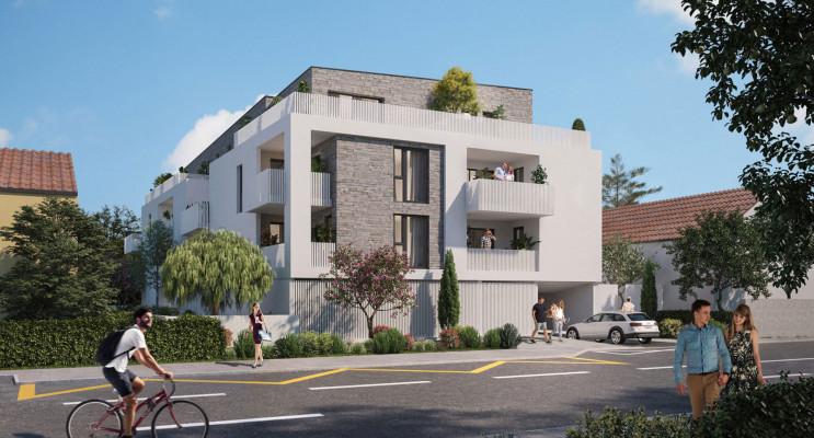 Nîmes programme immobilier neuf « Le Carré des Amoureux » en Loi Pinel