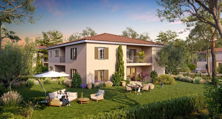 Aix-en-Provence programme immobilier neuf « Les Bastides de Célony » en Loi Pinel