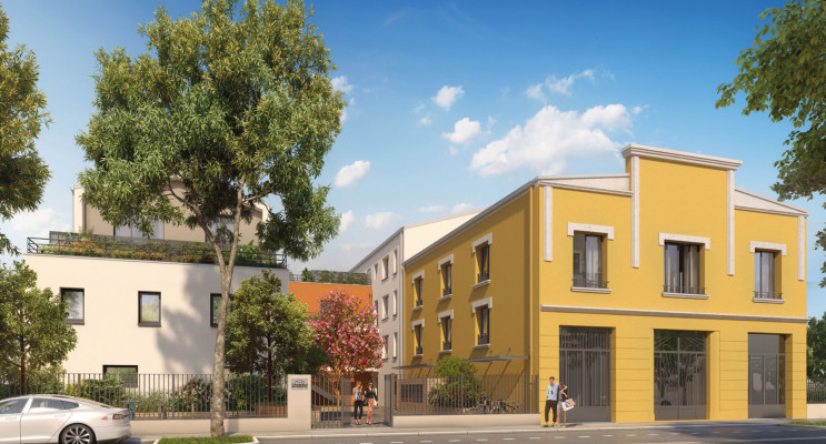 Villeurbanne programme immobilier neuf « L'Atelier Delle