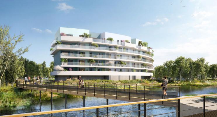 Canet-en-Roussillon programme immobilier neuf « Bleu Eden » en Loi Pinel