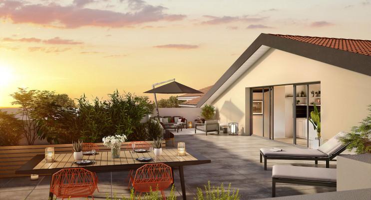 Toulouse programme immobilier neuf « L'Ecrin de Paul » en Loi Pinel
