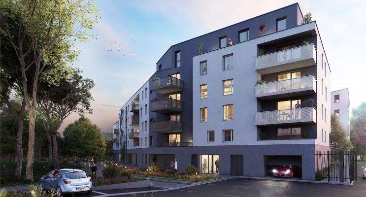 Strasbourg programme immobilier neuf « L'Inattendu 2 » en Loi Pinel