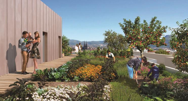 Clermont-Ferrand programme immobilier neuf « Les Fabriks de Mai » en Loi Pinel