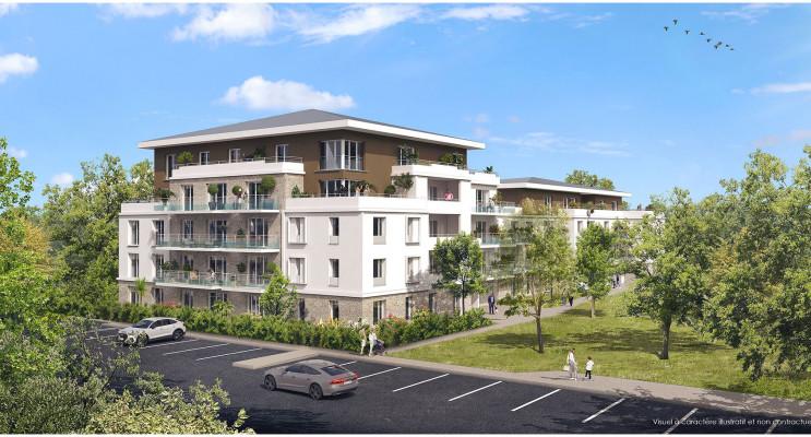 Lieusaint programme immobilier neuf « Les Jardins du Château de la Barrière » en Loi Pinel