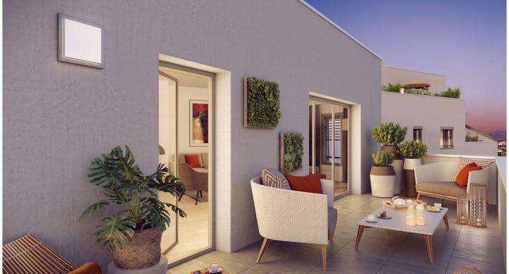 Villeurbanne programme immobilier neuf « Square Verde » en Loi Pinel