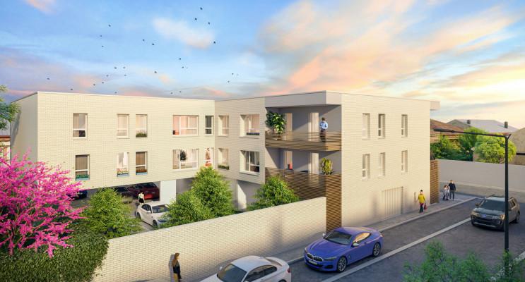 Reims programme immobilier neuf « Magenta » en Loi Pinel