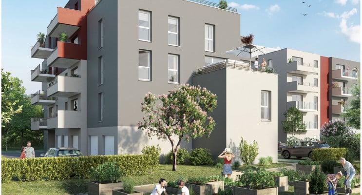 Metz programme immobilier neuf « Plénitude » en Loi Pinel