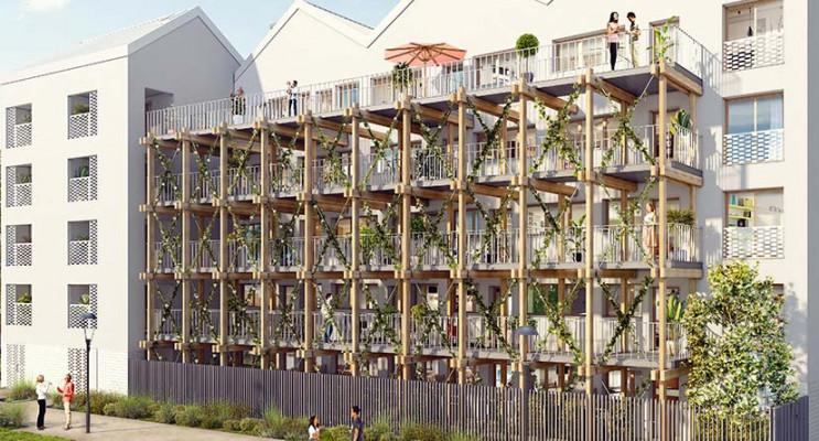 Pierrefitte-sur-Seine programme immobilier neuf « Opaline » en Loi Pinel