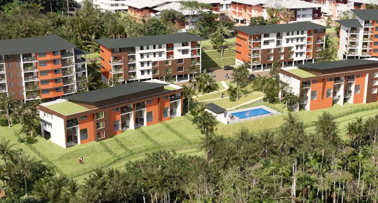 Remire-Montjoly programme immobilier neuf « Ebène Rose 2022 » en Loi Pinel