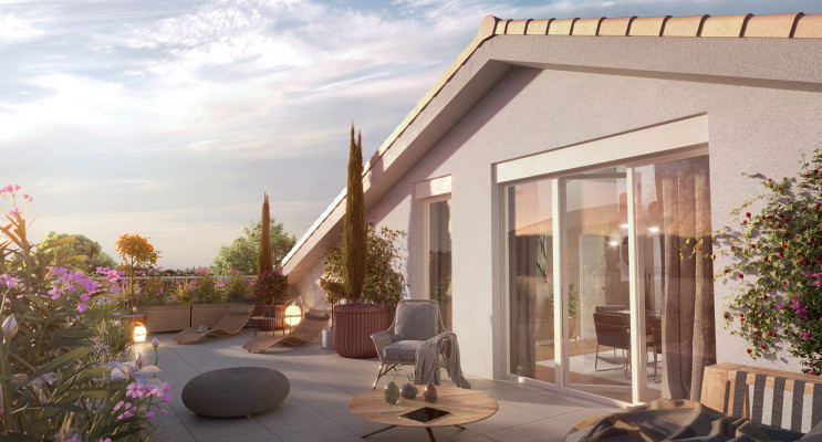 Saint-Priest programme immobilier neuf « Imagin » en Loi Pinel