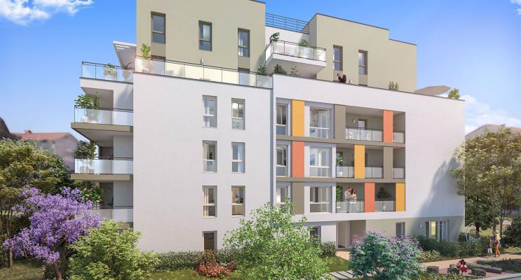 Villeurbanne programme immobilier neuf « Ceur Balzac » en Loi Pinel
