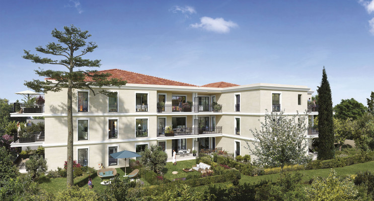 Aix-en-Provence programme immobilier neuf « 124 Fontenaille » en Loi Pinel