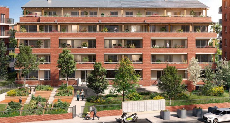Toulouse programme immobilier neuf « Le Miranda » en Loi Pinel