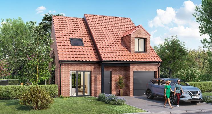 Genech programme immobilier neuf « Le Clos des Saules »
