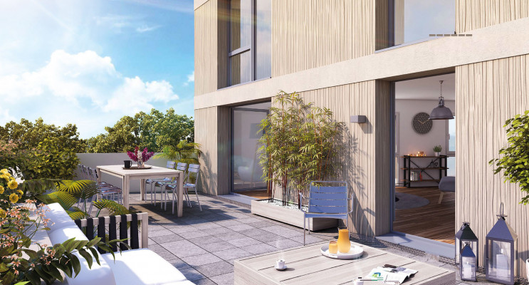 Bordeaux programme immobilier neuf « Bel Air