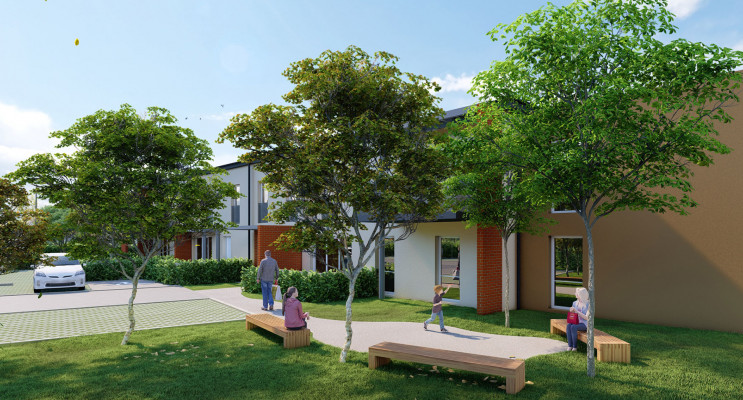 Mondonville programme immobilier neuf « Patio Lina