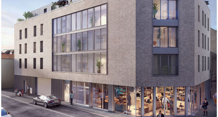 Nantes programme immobilier neuf « Si'Zen » en Loi Pinel
