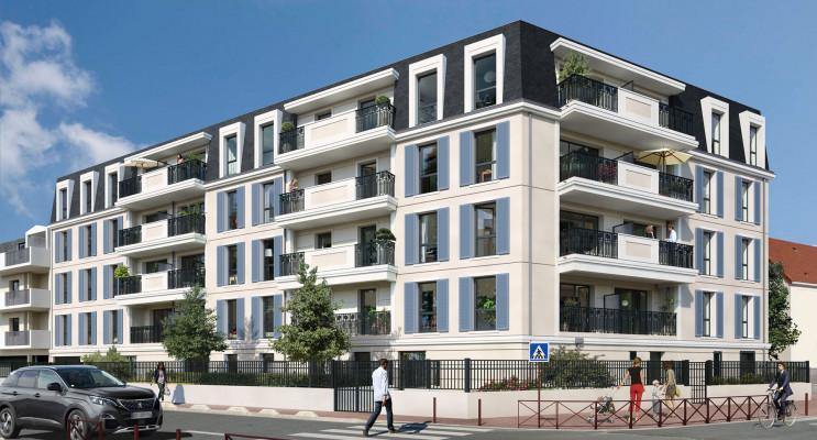 Montfermeil programme immobilier neuf « Équation » en Loi Pinel