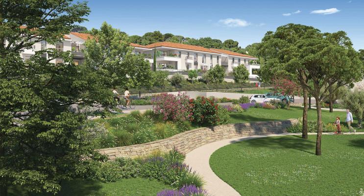 Ollioules programme immobilier neuf « Parc Saint-Roch » en Loi Pinel
