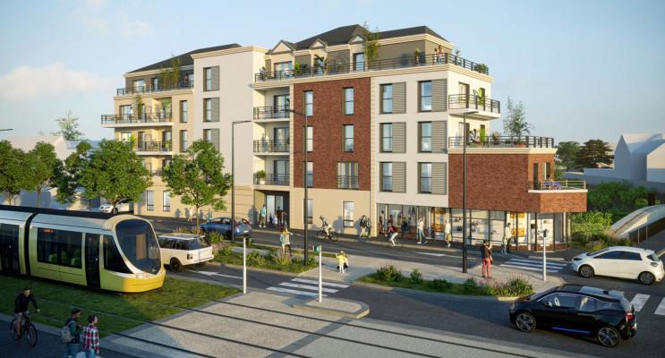 Orléans programme immobilier neuf « Faubourg 164 » en Loi Pinel
