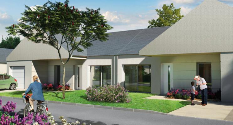 Bourges programme immobilier neuf « La Promenade Jacques Brel »