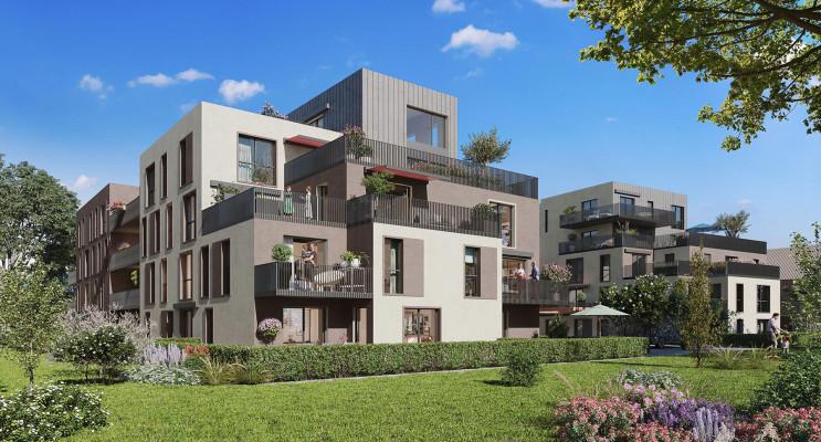 Oberhausbergen programme immobilier neuf « Les Terrasses O vert » en Loi Pinel