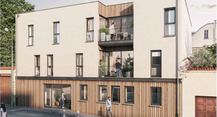 Reims programme immobilier neuf « Jardin Ponsardin » en Loi Pinel