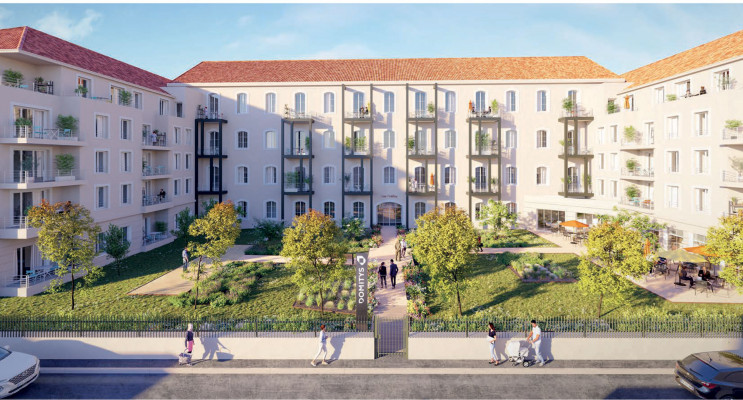 Châtellerault programme immobilier neuf « RSS Les Trèfles »