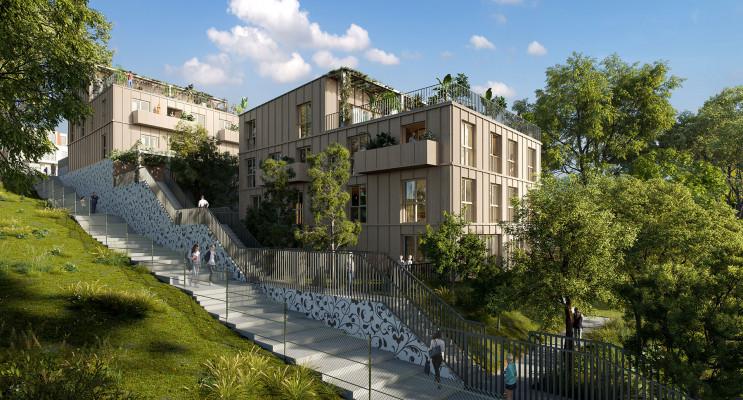 Montreuil programme immobilier neuf « Domaine sous Bois » en Loi Pinel
