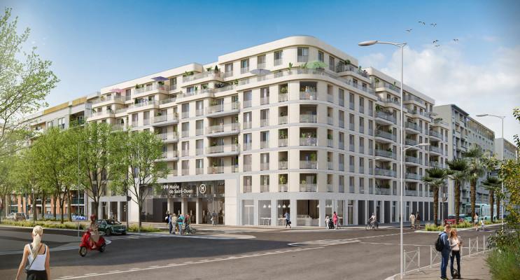 Saint-Ouen-sur-Seine programme immobilier neuf « Réciproque - Est