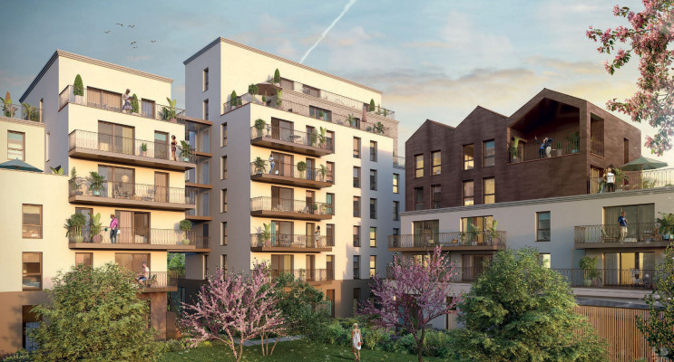 Rennes programme immobilier neuf « Paloma »