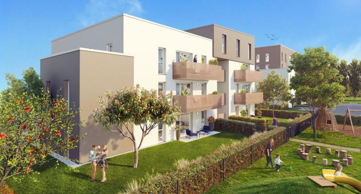 Colmar programme immobilier neuf « Nature & Eau »