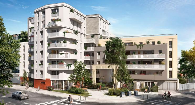 Bezons programme immobilier neuf « Amplitude » en Loi Pinel