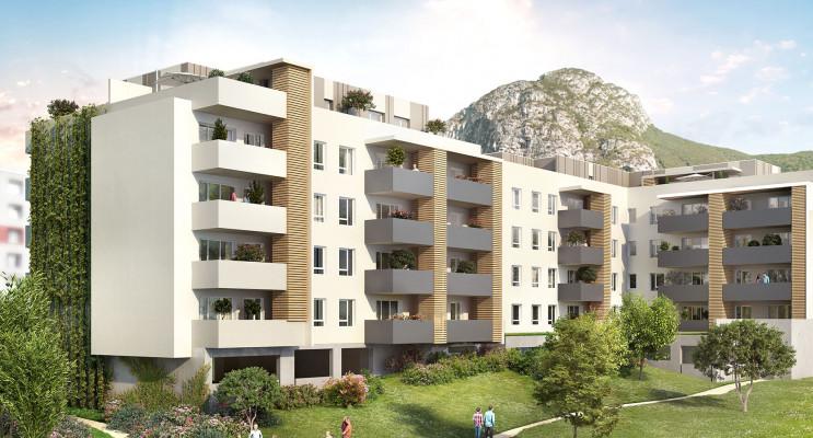 Saint-Martin-le-Vinoux programme immobilier neuf « L'Allée Verte » en Loi Pinel