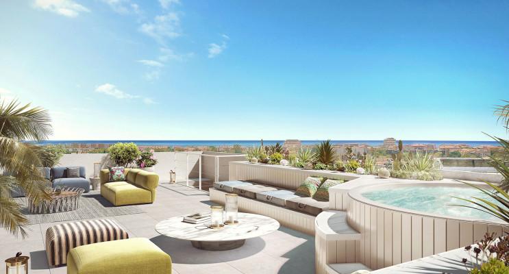 Fréjus programme immobilier neuf « Horizon Marine » en Loi Pinel