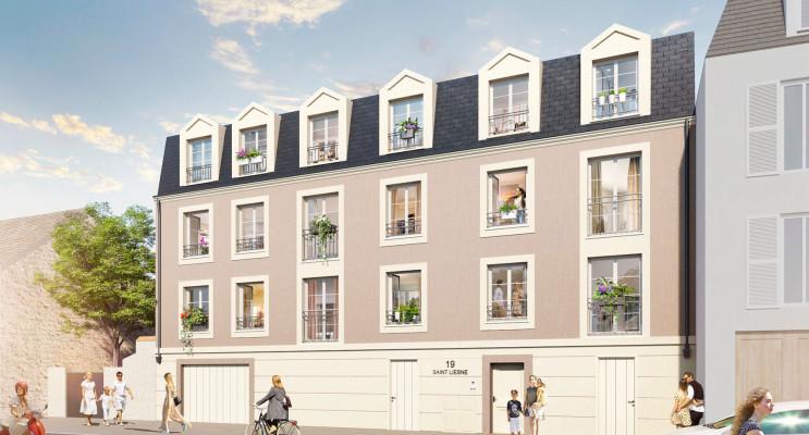 Melun programme immobilier neuf « Résidence Saint Liesne