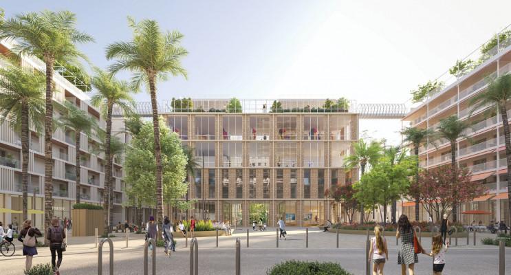 Nice programme immobilier neuf « Campus Joia - Résidence étudiante »
