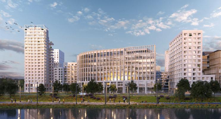 Bordeaux programme immobilier neuf « Quai Neuf